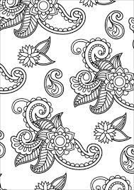 paisley pattern paisley pattern coloring page free printable coloring pages