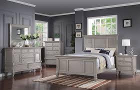 Brimley 4-Piece Queen Bedroom Set - Grey |
