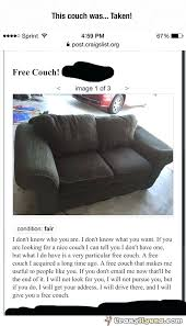 craigslist couch free chicago