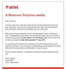Surprise Images Free Airtel Extends 30gb Free 4g Data For Another 3 Months As Monsoon