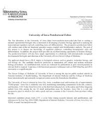 Elegant Postdoc Cover Letter Sample Biology 78 On Sample Email