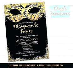 Masquerade Wedding Invites Masquerade Mask Wedding Invitations Astonishing Birthday To Design