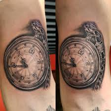 Clock Tattoo Inside Biceps Kjetils Tattoo Badass Tattoo Facebook