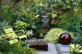 Garden Designs For Small Spaces Image