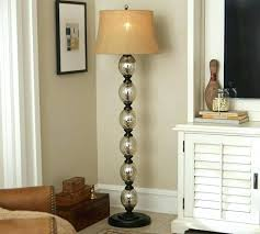 stacked ball table lamp stacked ball floor lamp stacked mercury glass floor lamp base pottery barn