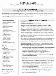Ad Sales Sample Resume Mesmerizing Resume Sample Standard Top 44 Good Example Accomplishments Examples