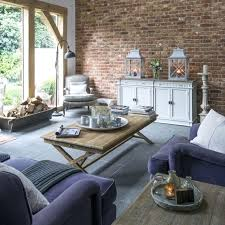 living room 1 modern country living room with exposed brick wall 1970s living room chairs