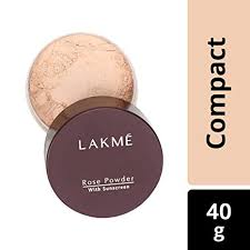 lakme rose face powder soft pink 40g at low s in india amazon in