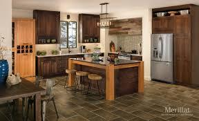 Merillat Kitchen Cabinet Doors Merillat Classicar Tolani In Oak Pecan Merillat
