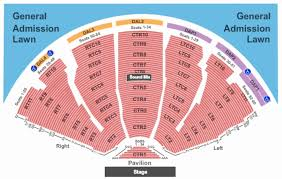 Ak Chin Pavilion Seating Chart With Seat Numbers 62 Complete Dte Seat Number Chart
