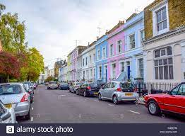Portobello Road Market, einem berühmten Straße im Stadtteil Notting Hill  Royal Borough von Kensington und Chelsea in West London, England  Stockfotografie - Alamy
