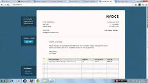 Online Invoice Creator Free Create Your Invoice Online Invoice Generator And Software YouTube 19