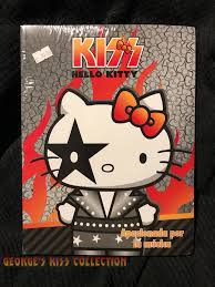 Hello kitty coloring pages for kids. Hello Kitty Kiss George S Kiss Collection