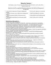Property Manager Resume Templates 55 Images Property Manager
