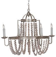 gabby sonya 4 light white and silver chandelier