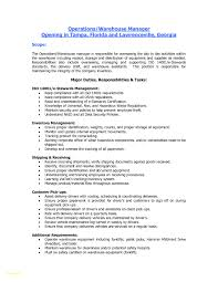 Sample Resume For Warehouse Worker General Warehouse Resume Sample Unique Warehouse Resume Templates 22