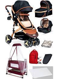 Baby Home Baby Home 945 Travel Sistem Bebek Arabası Ve 505 Bebet Sepeti  Anne Yanı Beşik - 34452388   M