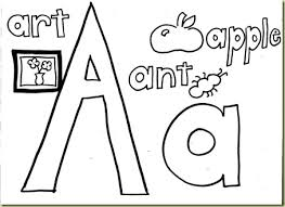 Small Picture Free Alphabet Coloring Pages Printable homeschool For the