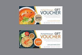 Thai Food Restaurant Discount Coupon Template Restaurant