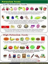 Low Potassium Foods List Chart 17 Best High Potassium Foods Images High Potassium Foods