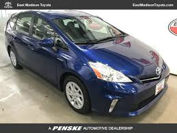 2014 Used Toyota Prius v 5dr Wagon Two at East Madison Toyota ...