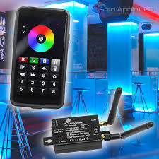 smartphone lighting control. Solid Apollo LED\u0027s LEDWizard Controller Manages LED Lighting From Any IOS Or Android Device - LEDs Smartphone Control