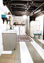 painted basement ceiling ideas. Industrial Pipe Exposed Basement Ceiling Painted Ideas R