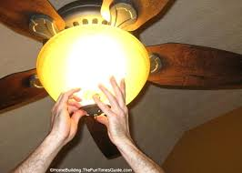 good how to fix a ceiling fan light with installing the light kit replace ceiling fan