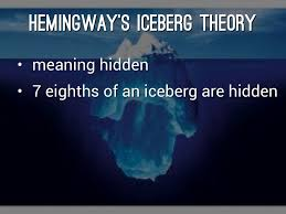 hills like white elephants by susan warburton hemingway s iceberg theory