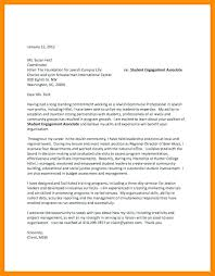 General Cover Letter For Student General Cover Letter For College