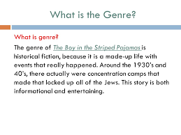 theme of the boy in the striped pajamas by john boyne ppt  what is the genre what is genre