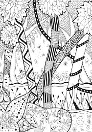 Small Picture Forest rachel Jungle Forest Coloring pages for adults