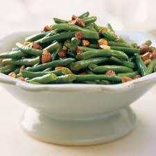 Stir Fried Green Beans With Tamari Almonds