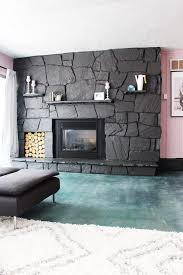 how to update a rock fireplace by using paint ehow