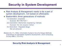 Security Risk Assessment Template Classy Security Risk Analysis Management Ppt Video Online Download