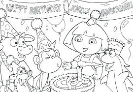 Free Printable Unicorn Birthday Coloring Pages With Preschool Theme