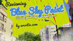 blue sky paint app