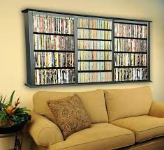 dvd shelf wall mounted wall mount storage furniture inspiring shelving ideas to organize your collection black wooden wall mounted wall hanging rack dvd