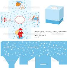 christmas gift box template stock vector copy yaskii  christmas gift box template stock illustration