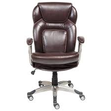 eco friendly office chair. Serta Back In Motion Health And Wellness Frye Chocolate Bonded Leather Office Chair - Free Shipping Today Overstock 16260149 Eco Friendly N