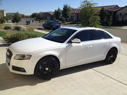 matte black audi a4. matte black caps are nowunlike picture btw car is getting lowered this week on coilovers the does hide all brake dust audi a4