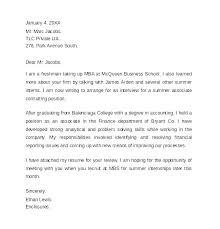 Cover Letter Format Internship Cover Letter Format For Internship