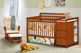 blue nursery furniture. Full Size Of Nursery Decors \u0026 Furnitures:baby Crib With Changing Table And Dresser Attached Blue Furniture