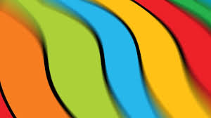 green blue red yellow orange colors wallpaper