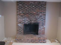 old brick fireplace makeover ideas medbempsters brick fireplace makeover