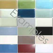 3 x 6 Subway Tile Sample Set.