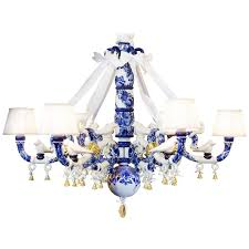 chandelier modern blue delft blue chandelier by marcel wanders from a unique collection