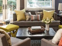 Mid Century Modern Living Room Design Mid Century Modern Living Room Ideas Wooden Sideboard Orange Throw
