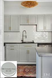 gray cabinet colors. Interesting Gray 10 Timeless Grays For The KitchenBenjamin Moore Coventry Gray Designer  Design Manifest Intended Gray Cabinet Colors
