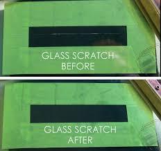 glass scratch removal